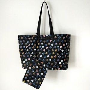 DKNY large reversible tote bag